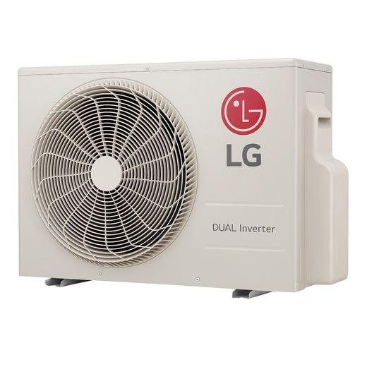 Condensadora Ar Condicionado Split LG DUAL Inverter Econômico 22.000 Btu/h Quente/Frio 220V - S4-W24KE3W1 | STRAR