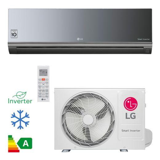 Ar Condicionado Split Hi Wall LG Smart Inverter Artcool 9.000 Btu/h Frio 220v  | STR AR