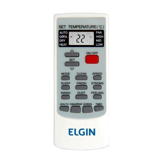 Controle Ar Condicionado Split Hi-Wall Elgin Eco Inverter 24.000 BTU/h Frio 220V    STR AR
