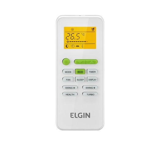 Controle Ar Condicionado Split Cassete Eco Elgin 24.000 BTU/h Frio 220V  | STR AR