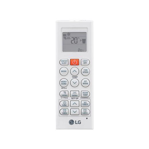 Controle Ar Condicionado Split Hi-Wall LG DUAL Inverter Econômico 12.000 Btu/h Frio 110V - S4NQ12JA3WF  | STR AR