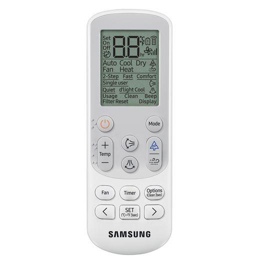 Controle Ar Condicionado Split Hi-Wall Samsung Inverter Wind Free 24.000 BTU/h Quente/Frio 220v | AR24NSPXBWKNAZ