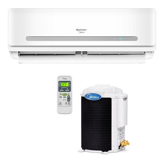Ar Condicionado Split Hi-Wall Springer Midea 29.000 BTU/h Quente/Frio 220V  | STR AR