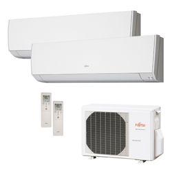 Ar Condicionado Multi Split Inverter Fujitsu 18.000 BTU/h (2x 09.000) Quente/Frio 220v  | STR AR