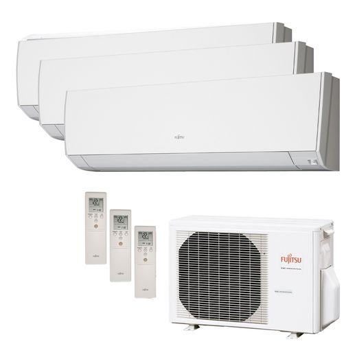 Ar Condicionado Multi Split Inverter Fujitsu 24.000 BTU/h (2x 12.000 e 1x 07.000) Quente/Frio 220v  | STR AR
