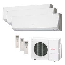 Ar Condicionado Multi Split Inverter Fujitsu 18.000 BTU/h (3x 09.000) Quente/Frio 220v  | STR AR