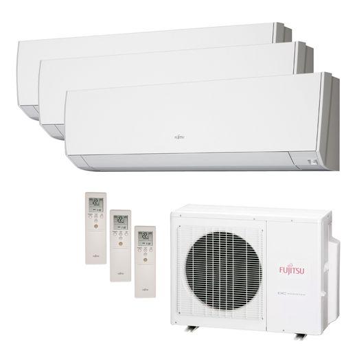 Ar Condicionado Multi Split Inverter Fujitsu 18.000 BTU/h (2x 09.000 e 1x 12.000) Quente/Frio 220v  | STR AR