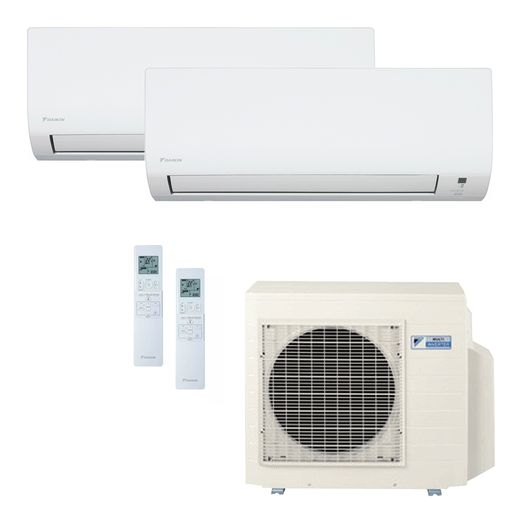 Ar Condicionado Daikin Multi Split Inverter 18.000 BTU/h (1x 09.000 1x 12.000) - Quente/Frio 220v  | STR AR