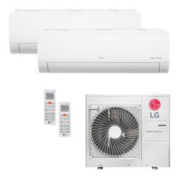 Ar Condicionado Multi-Split LG Inverter 36.000 BTU/h (1x 17.100 e 1x 22.500) Quente/Frio 220V | STRAR