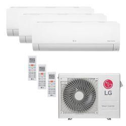 Ar Condicionado Multi-Split LG Inverter 24.000 BTU/h (3x 7.200) Quente/Frio 220V | STRAR