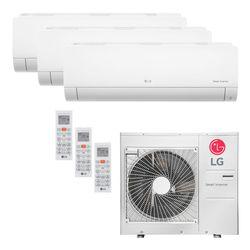 Ar Condicionado Multi-Split LG Inverter 36.000 BTU/h (1x 8.500 1x 11.900 e 1x 17.100) Quente/Frio 220V | STRAR