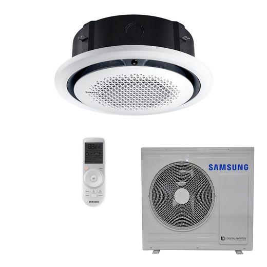 Ar Condicionado Cassete Samsung Digital Inverter 360º 24.000 BTU/h Quente/Frio 220V - AC024MN4PKH/AZ | STR AR