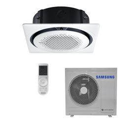 Ar Condicionado Cassete Samsung Digital 360º Inverter 24.000 BTU/h Quente/Frio 220V - AC024MNPKH | STR AR