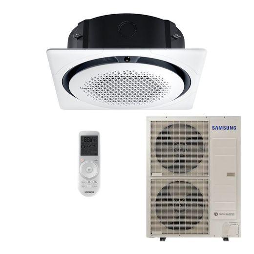 Ar Condicionado Cassete Samsung Digital 360º Inverter 46.000 BTU/h Quente/Frio 220V - AC048MNPKH | STR AR