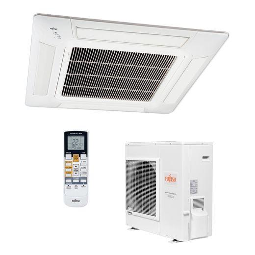 Condensadora-Ar-Condicionado-Split-Cassete-Inverter-Fujitsu-29.000-BTU-h-Quente-Frio-220v--|-STR-AR