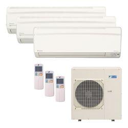 Ar Condicionado Daikin Multi Split Inverter 38.000 BTU/h (1x 12.000 2x 21.000) - Quente/Frio 220v  | STR AR