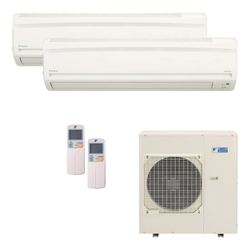 Ar Condicionado Daikin Multi Split Inverter 34.000 BTU/h (2x 17.000) - Quente/Frio 220v  | STR AR