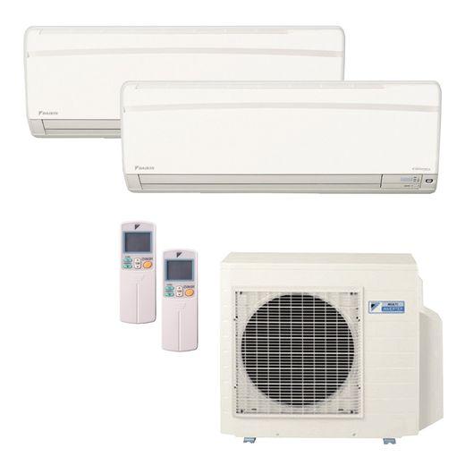 Ar Condicionado Daikin Multi Split Inverter 18.000 BTU/h (2x 12.000) - Quente/Frio 220V | STR AR