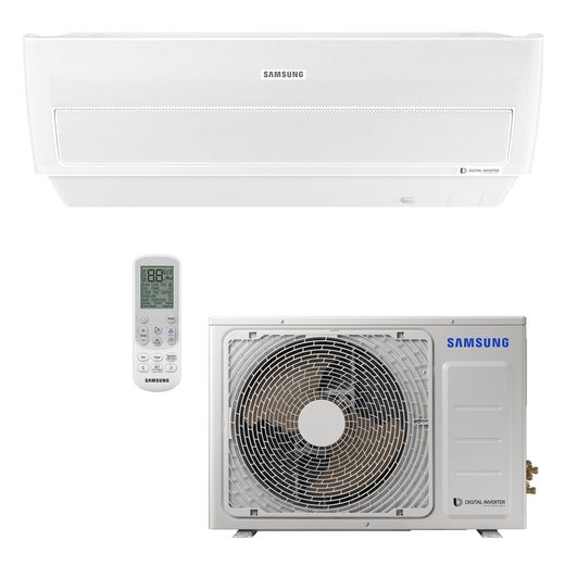 Ar-Condicionado-Split-Hi-Wall-Samsung-Inverter-Wind-Free-12.000-Btu-h-Quente-Frio-220v---AR12NSPXBWKNAZ