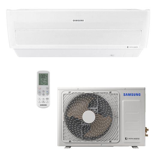 Ar Condicionado Split Hi-Wall Samsung Inverter Wind Free 24.000 BTU/h Quente/Frio 220v | AR24NSPXBWKNAZ | STRAR
