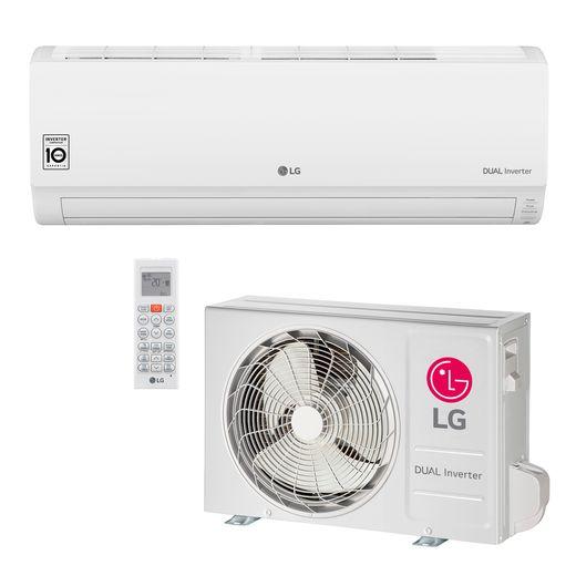 Ar Condicionado Split LG DUAL Inverter Econômico 9.000 Btu/h Frio 220V | STR AR