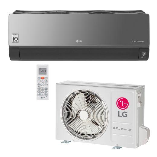 Ar Condicionado Split LG DUAL Inverter Artcool Econômico 9.000 Btu/h Quente/Frio 220V   STR AR