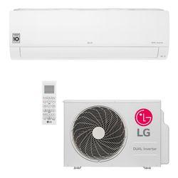 Ar Condicionado Split Hi-Wall LG DUAL Inverter Voice 18.000 Btu/h Frio 220V | S4-Q18KL31A | STRAR