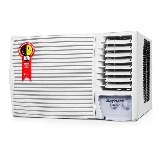 Ar-Condicionado-Springer-Midea-Janela-Silentia--27.000-BTU-h-Quente-Frio-220v---Mecanico-|-ZQI305BB