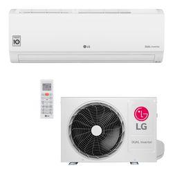 Ar Condicionado Split Hi-Wall LG DUAL Inverter Voice 9.000 Btu/h Quente/Frio 220V | S4-W09WA5WA | STRAR