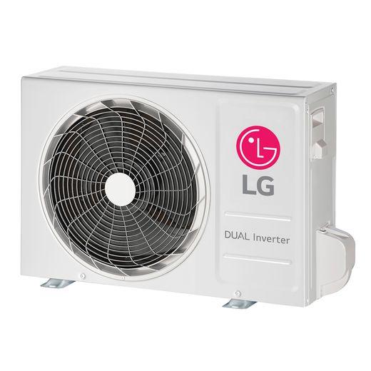 condensadora Ar Condicionado Split Hi-Wall LG DUAL Inverter Voice 9.000 Btu/h Quente/Frio 220V | S4-W09WA5WA | STRAR