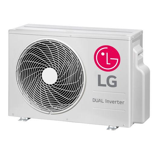 condensadora Ar Condicionado Split Hi-Wall LG DUAL Inverter Voice 18.000 Btu/h Quente/Frio 220V | S4-W18KL3WA | STRAR