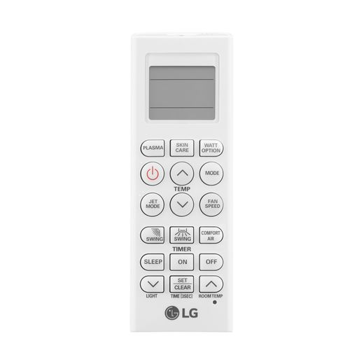controle Ar Condicionado Split Hi-Wall LG DUAL Inverter Voice 24.000 Btu/h Frio 220V | S4-Q24K231D | STRAR