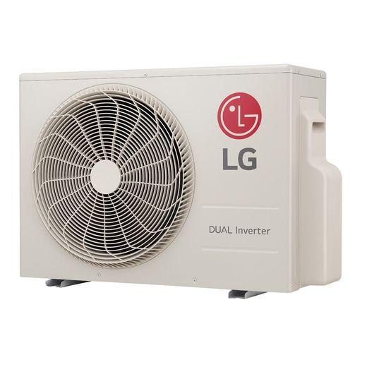 condensadora Ar Condicionado Split Hi-Wall LG DUAL Inverter Voice 24.000 Btu/h Quente/Frio 220V | S4-W24KE3W1 | STRAR