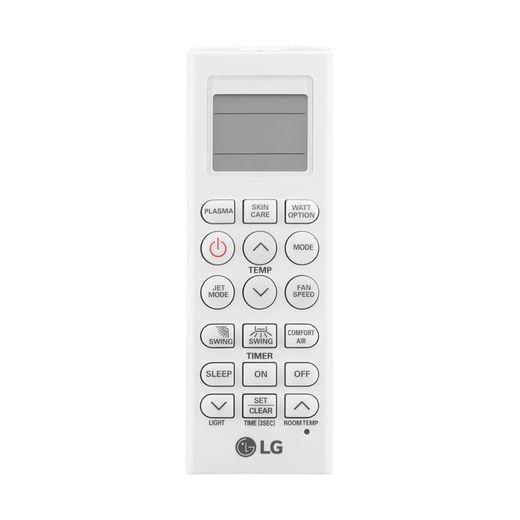 controle Ar Condicionado Split Hi-Wall LG DUAL Inverter Voice 24.000 Btu/h Quente/Frio 220V | S4-W24KE3W1 | STRAR