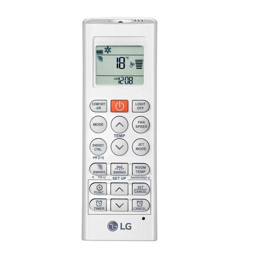 Controle Ar Condicionado Multi-Split LG 18.000 BTU/h (1x Evap Cassete 4 Via 9.000 BTU/h + 1x Evap ArtCool 9.000 BTU/h) Quente/Frio 220V | STR