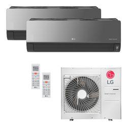Ar Condicionado Multi-Split LG ArtCool Inverter 36.000 BTU/h (1x 17.100 e 1x 22.500) Quente/Frio 220V | STR