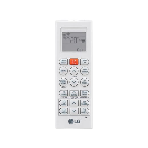 controle Ar Condicionado Multi-Split LG ArtCool Inverter 30.000 BTU/h (1x 7.200 1x 8.500 e 1x 17.100) Quente/Frio 220V | STR