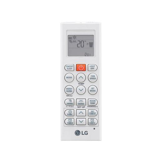 controle Ar Condicionado Multi-Split LG ArtCool Inverter 36.000 BTU/h (1x 8.500 1x 11.900 e 1x 17.100) Quente/Frio 220V | STR