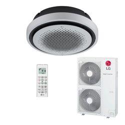Ar Condicionado Cassete Redondo Inverter LG Quente/Frio 60.000 BTU/h 220V | AT-W60GYLP0 | STR AR