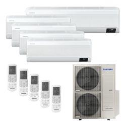 Ar Condicionado Multi-Split Samsung Wind Free Plus Inverter 48.000 BTU/h (4x 9.000 e 1x 18.000) Quente/Frio 220v | STR AR