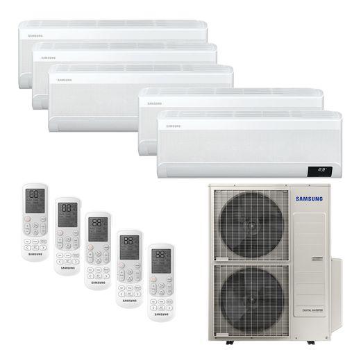 Ar Condicionado Multi-Split Samsung Wind Free Plus Inverter 48.000 BTU/h (4x 9.000 e 1x 12.000) Quente/Frio 220v  | STR AR