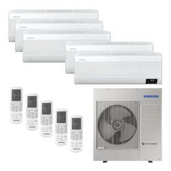Ar Condicionado Multi-Split Samsung Wind Free Plus Inverter 34.000 BTU/h (3x 9.000 e 2x 12.000) Quente/Frio 220v | STR AR