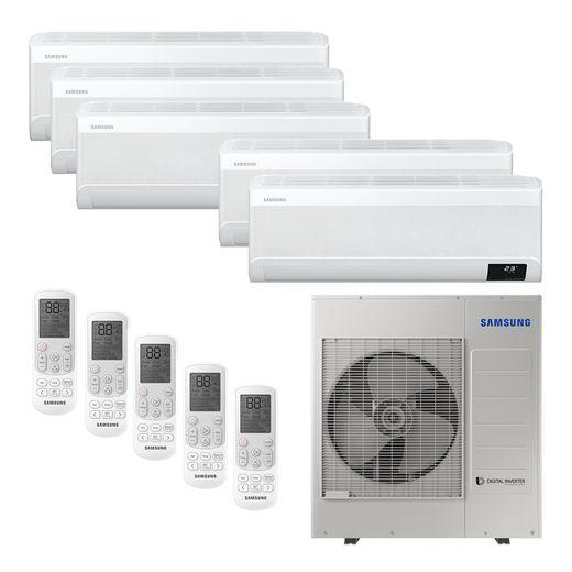 Ar Condicionado Multi-Split Samsung Wind Free Plus Inverter 34.000 BTU/h (5x 9.000) Quente/Frio 220v | STR AR