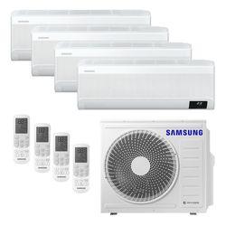 Ar Condicionado Multi-Split Samsung Wind Free Plus Inverter 28.000 BTU/h (3x 9.000 e 1x 12.000) Quente/Frio 220v | STR AR