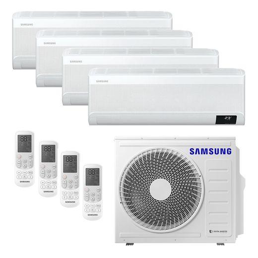 Ar Condicionado Multi-Split Samsung Wind Free Plus Inverter 28.000 BTU/h (4x 9.000) Quente/Frio 220v | STR AR