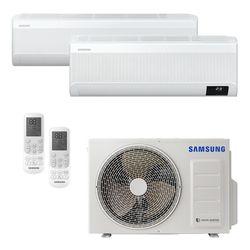 Ar Condicionado Multi-Split Samsung Wind Free Plus Inverter 18.000 BTU/h (1x 9.000 e 1x 18.000) Quente/Frio 220v | STR AR