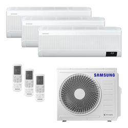 Ar Condicionado Multi-Split Samsung Wind Free Plus Inverter 24.000 BTU/h (3x 9.000) Quente/Frio 220v  | STR AR