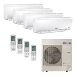Ar Condicionado Hi-Wall Mini VRF Samsung Inverter 47.800 BTU/h (3x 9.500 e 1x 24.000) Quente/Frio 220v | STR AR