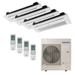 Ar Condicionado Cassete 1 Via VRF Inverter Samsung 41.300 BTU/h (3x 9.500 1x 18.000) Quente/Frio 220V  | STR AR