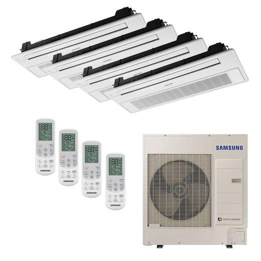 Ar Condicionado Cassete 1 Via VRF Inverter Samsung 47.800 BTU/h (3x 9.500 1x 24.000) Quente/Frio 220V | STR AR